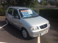 2004 Suzuki Alto 1.0 GL-37,000-12 months mot-£30 a year tax-2 owners-great value