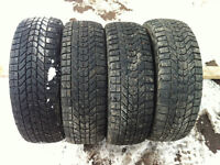 P205/65R15 FIRESTONE WINTERFORCE TIRES ( FULL SET