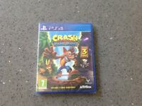 PS4 Crash Bandicoot ( N-Sane Trilogy )