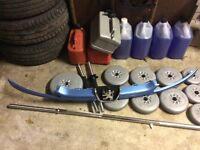 Peugeot 206 Front grill blue