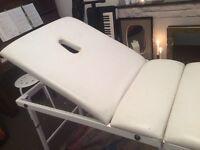 Folding Massage Table Leatherette - Portable Beautician, tattoo, therapy, salon, reiki