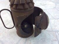 Policeman's bullseye lantern