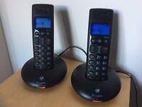 BT Graphite 2100 twin set of cordless phones