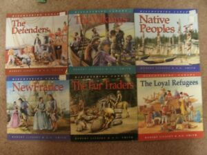 Set of 6 Canadian History Books