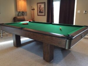 National 41/2 x 9 Pool Table