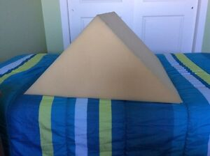 Large Foam triangle used in Massage Therapy St. John's Newfoundland image 1