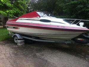 For Sale, older Sunbird, 80 horse evinrude, trailer as is