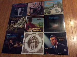 Gospel, Bluegrass, and Country LP Records