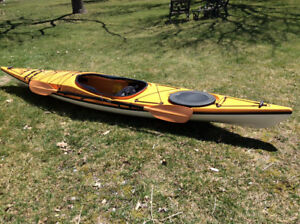 Kayak with complete carrier system for sale