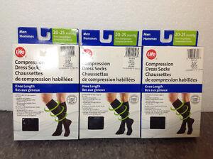 NEW IN BOX Life Brand compression socks - M - 20-25 mmHg Cambridge Kitchener Area image 2