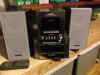 Chaîne hifi 5 cd Panasonic