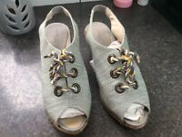 Radley Sandals size 7 brand new in box. RRP £95.00