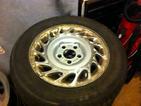 Saturn tire and rim package