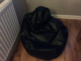 Faux Leather Gaming Bean Bag