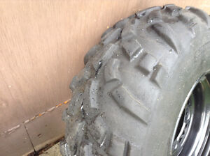 Polaris tires and rims for sale or trade