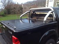 Mountaintop roll n lock tonneau cover for Toyota Hilux