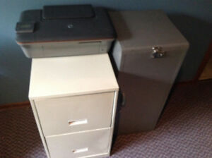 Hp desk jet 3050A plus cabinets
