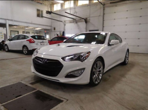 Genesis coupe 3.8 GT. Winter ready