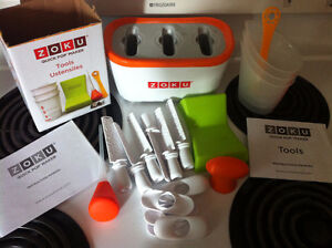 ZOKU QUICK POP MAKER & ACCESSORIES