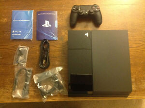 PS4 With Uncharted 4 + The Division + Controller and HDMI in the