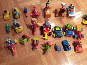 40 MACDONALD HAPPY MEAL FIGURINES (1983-1988) - mint state