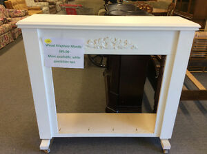 Wooden Fireplace Mantles - Reduced