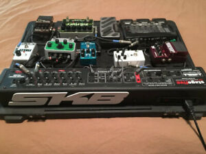 *** REDUCED *** Pedals & SKB Stage 5 Pedalboard