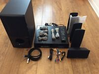LG 3D Blu-Ray Player with Subwoofer and Speakers