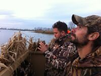 Make memories with a guided waterfowl hunt!!