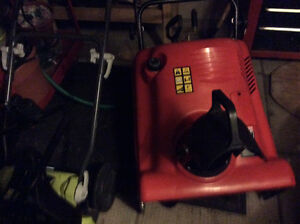 21inch electric start 5 horse snow blower