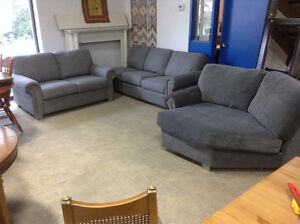 Brand New Loveseat and Sectional Couch Pieces