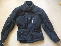 Textile buffalo jacket