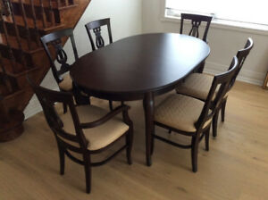 Looks New!  Solid Wood Dining Set with Sideboard