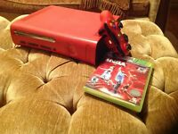 Xbox 360 red | great condition | controller+game included
