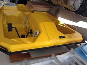 4 Person Yellow Pedal Boat