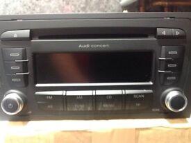 Audi A3 car radio cd MP3 player