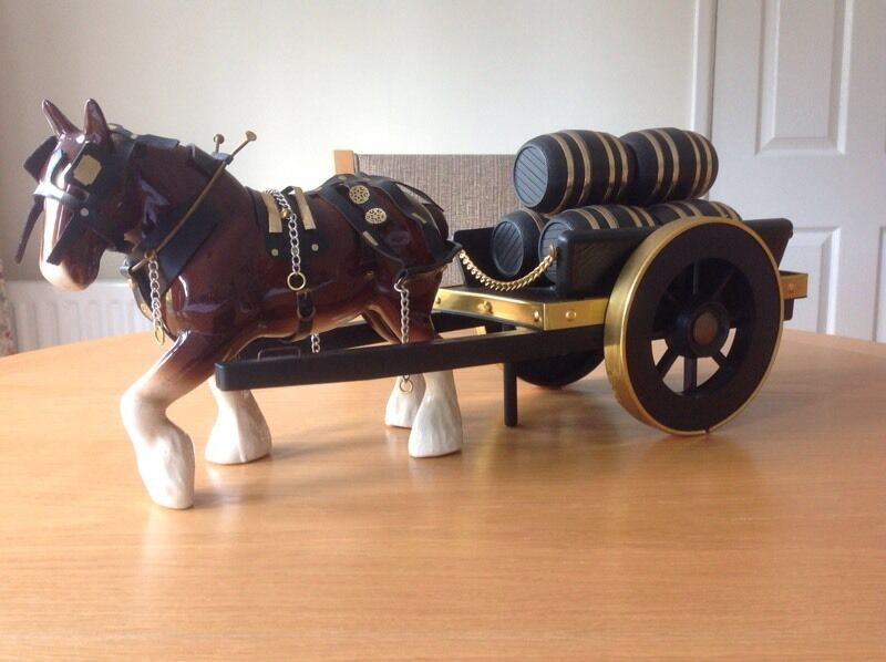 Shire Horse And Cart Ornament In Crawley West Sussex
