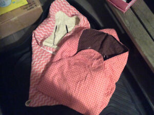 Car seat swaddle covers