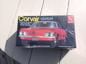 Custom Corvair 1969 Monza Model Car Kit Vintage