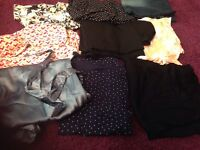 Ladies 8-10 and 10-12 maternity clothes