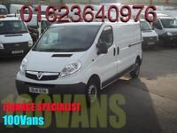 VAUXHALL VIVARO 2.0CDTI LWB 115PS 2900 1 OWNER F/S/H 1 HOUR DRIVEAWAY FINANCE