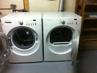 Frigidaire (Affinity) Washer & Dryer