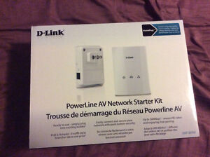 D-Link powerline AV network starter kit, stream HD videos