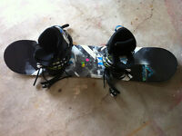 Firefly snowboard, boots and binding for Junior Boy