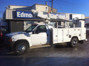 2001 FORD F-450 32FT BUCKET TRUCK