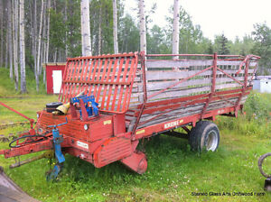 Krone Hay/Silage Self Loader Wagon