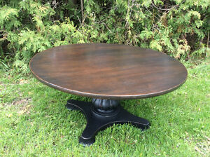 Ornate Round Coffee Table