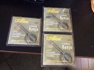 Banjo Strings 3 sets