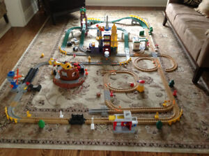 Fisher Price GeoTrax Rail and Road System