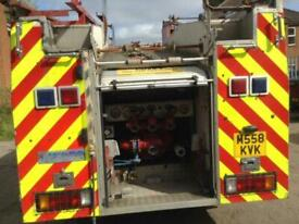 Volvo fl6 Fire Engine